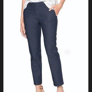 Gap Slim City Crop Pants denim size 18 new